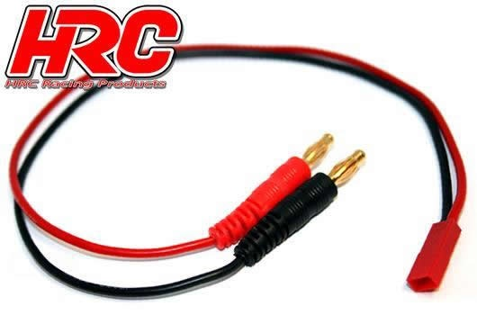 HRC Racing Ladekabel - Gold - Banana Plug zu BEC JST Stecker
