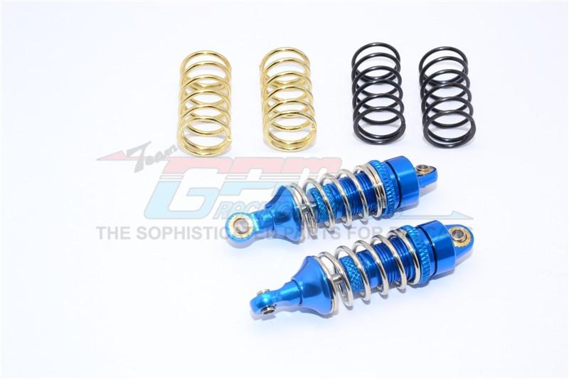 GPM aluminium front/rear adjustable spring damper (1,2mm,