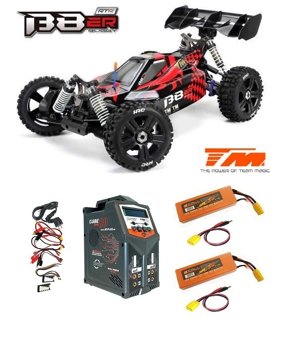 Team Magic B8ER 4WD Elektro Buggy BL 2500kv - 4S 2.4GHz