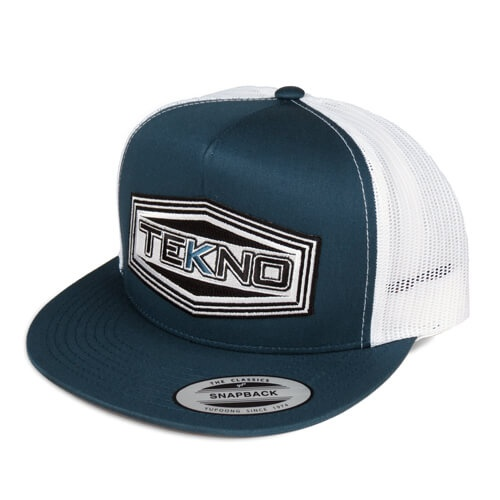 Tekno RC TKRHAT11F - Tekno RC Patch Trucker Hat