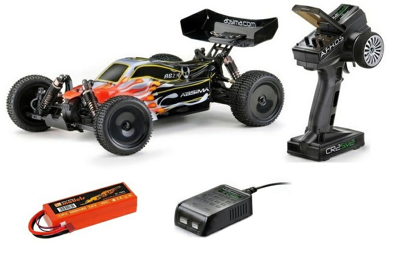 Absima EP 4WD BL Buggy AB2.4BL RTR 1:10 --SPARSET--