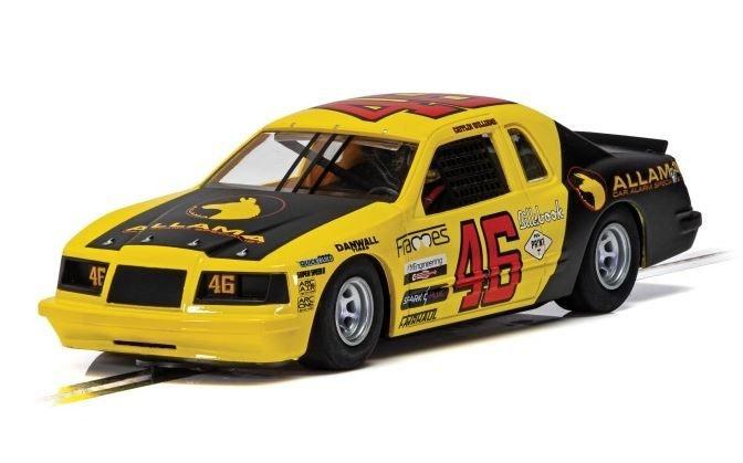 Scalextric 1:32 Ford Thunderbird Gelb/Schwarz  #46 SR