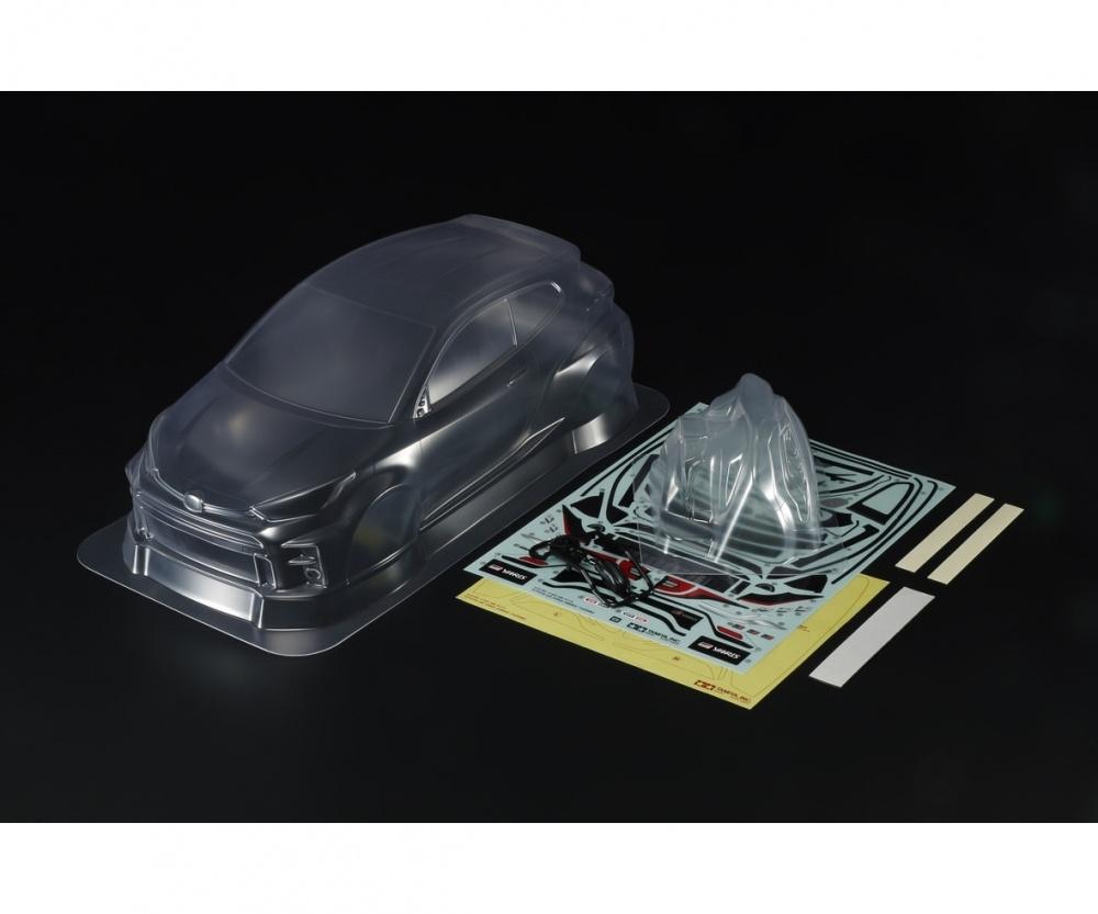 Tamiya RC Karosserie-Satz LW Toyota G.R. Yaris RS239mm