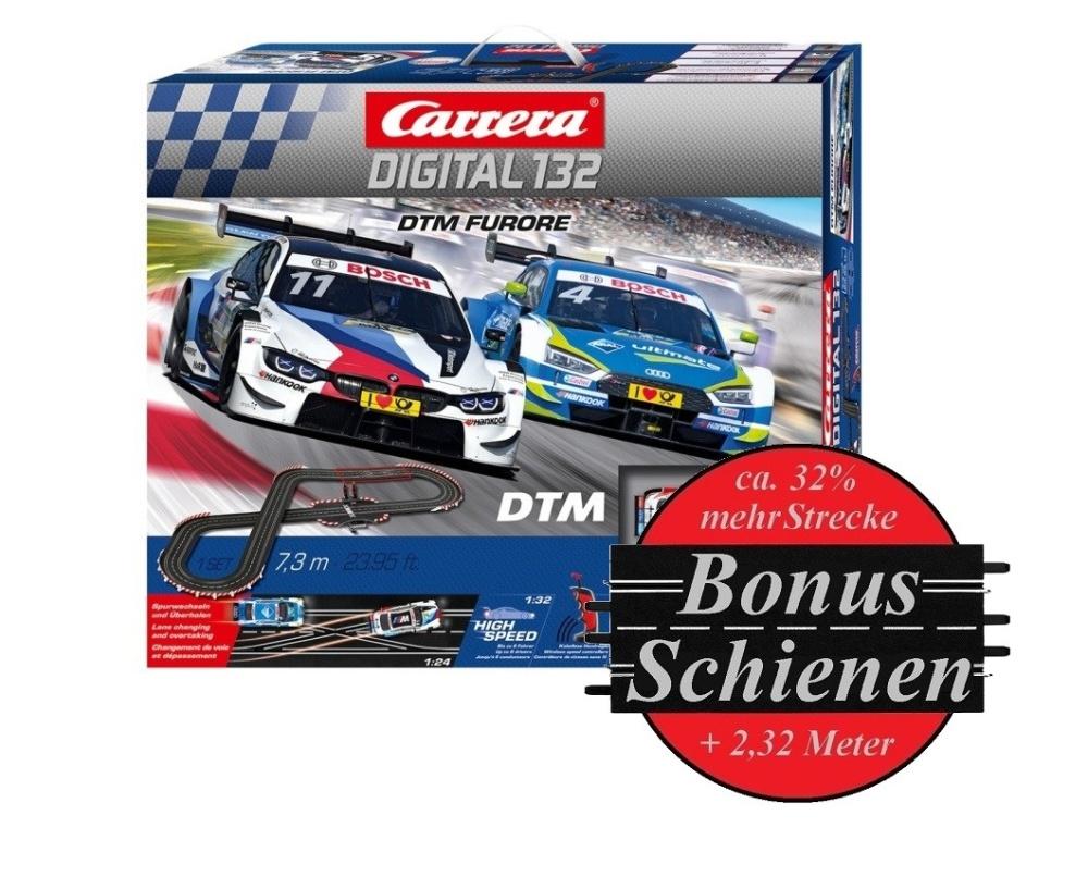 Carrera Digital 132 DTM Furore --SPARSET 1-- incl. Bonus-