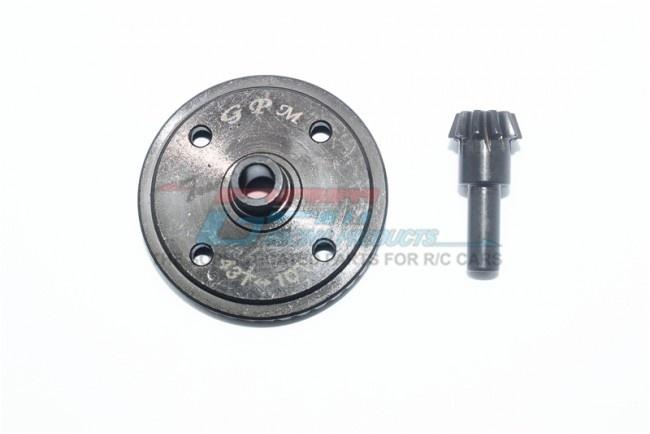 GPM harden steel #45 diff bevel gear 43T & pinion gear 10T