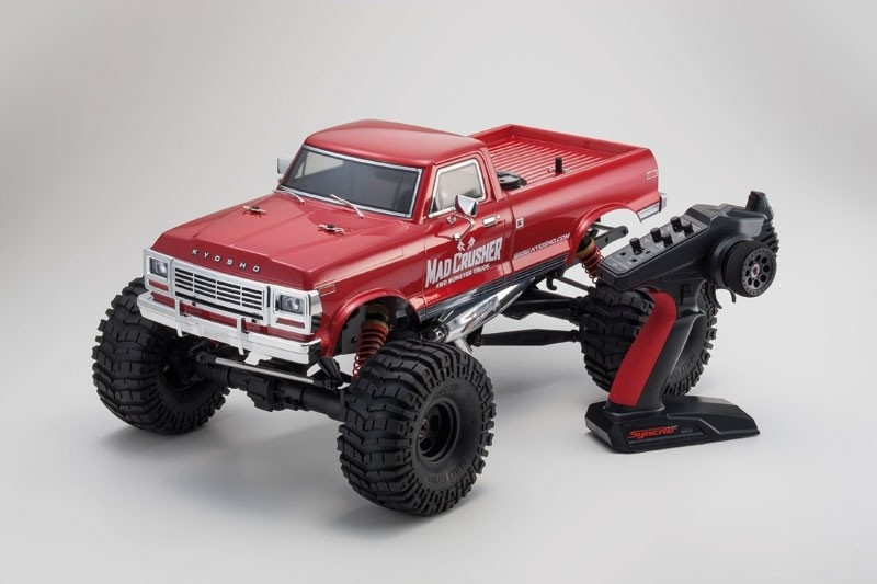 Kyosho MAD CRUSHER 1:8 RC Nitro 4WD READYSET 2.4GHz