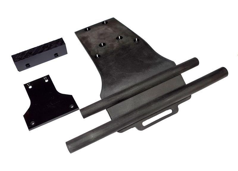 Oktay RC Bumper Arrma schwarz Doppelsteg 4mm