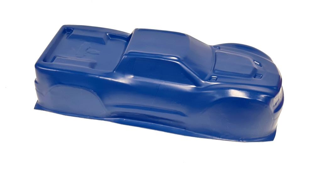 Probodyrc unbreakable Body für Traxxas X-Maxx Typ B blau