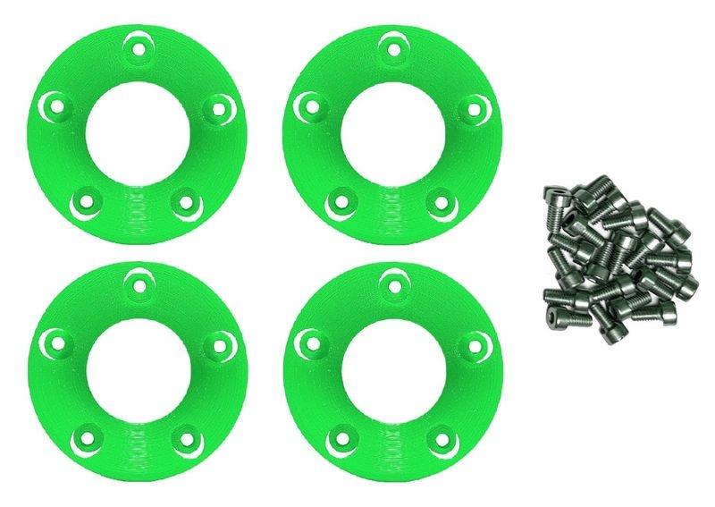 JS-Parts Felgenringe innen für Louise RC MFT 1:5 grün /