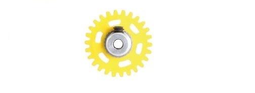 NSR AW 3/32 Soft Plastic Gear/Zahnrad 26T w/alu hub yellow