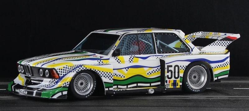 Sideways BMW 320 Gr.5 Le Mans 24hrs 1977 No.50