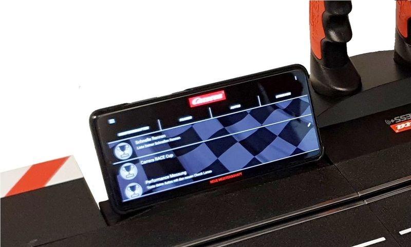 JS-Parts Handy/Tablet Halter für Carrera (f. App Connect)