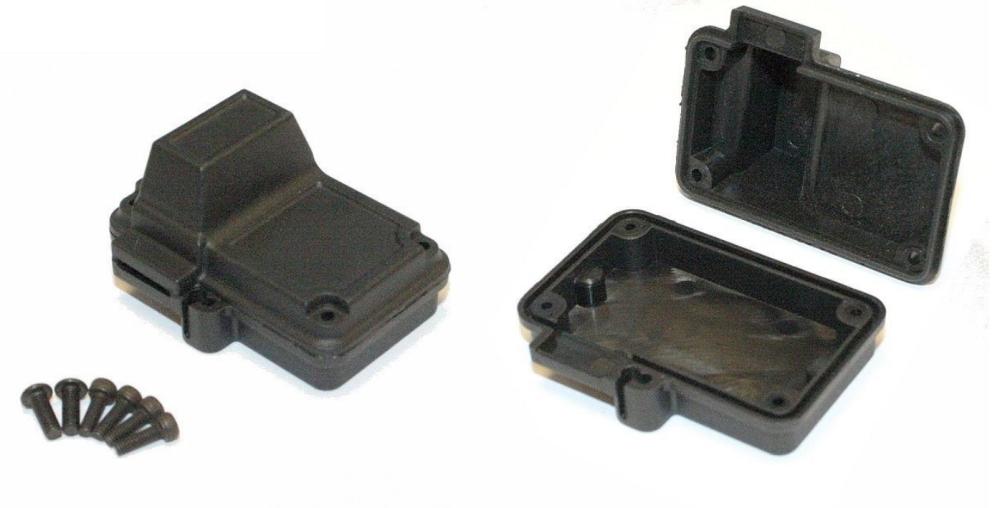 Universal Empfängerbox / Radiobox Spritzwassergeschützt