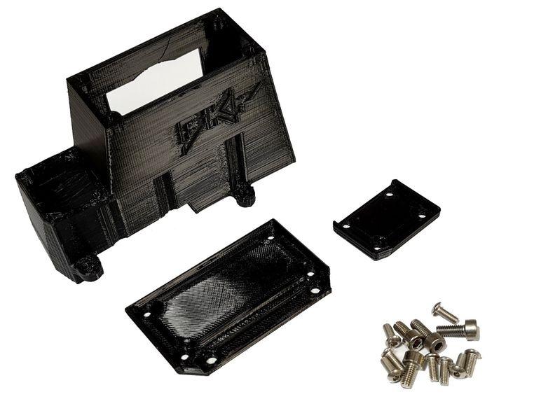 JS-Parts ultraflex Getriebeabdeckung schwarz für