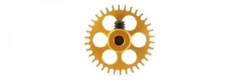 NSR SW Gear/Zahnrad 34T 17.5mm NSR/Proslot/Slot.it GOLD