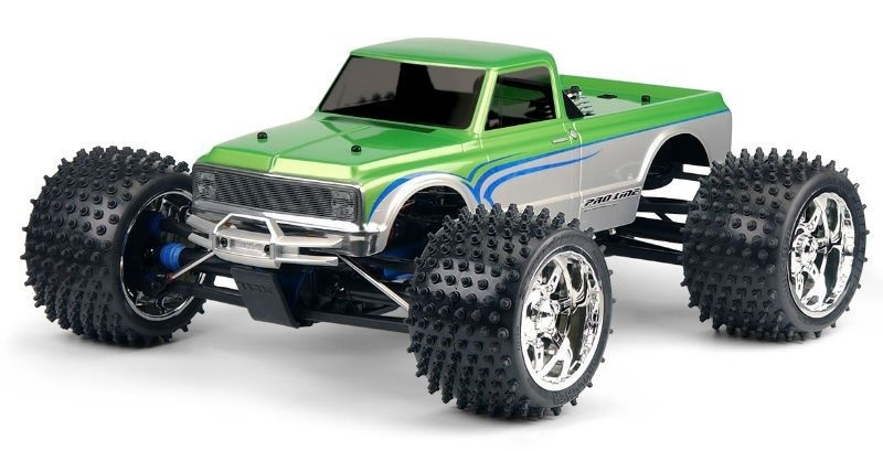 Pro Line 1972 Chevy C10 Long Bed Clear Body/Karosserie