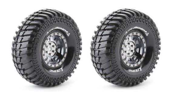 Louise RC CR-ARDENT Crawler Reifen 1:10 - Fertig Verklebt
