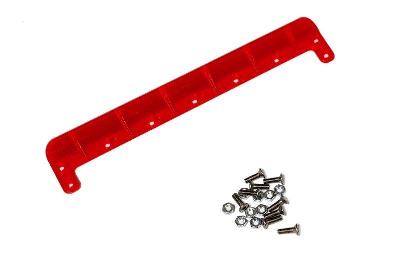 JS-Parts ultraflex Heckkante universal 158mm rot