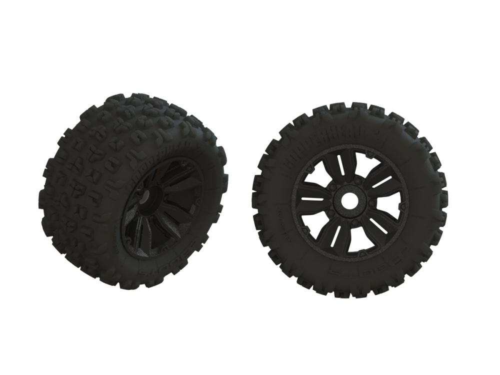Arrma Dboots Copperhead2 SB MT Tire Set Glued (1 Pair)