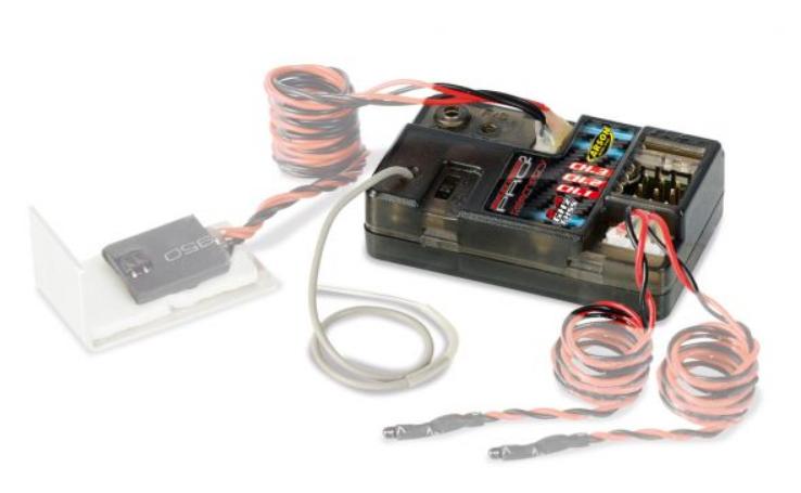 Carson Reflex Wheel Pro II Telemetrie Empfänger 2.4GHz