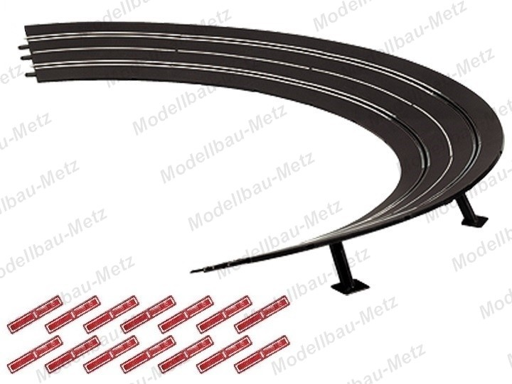 Carrera Evol./Excl./Pro-x/D 132 6x Steilkurve 3/30 Grad