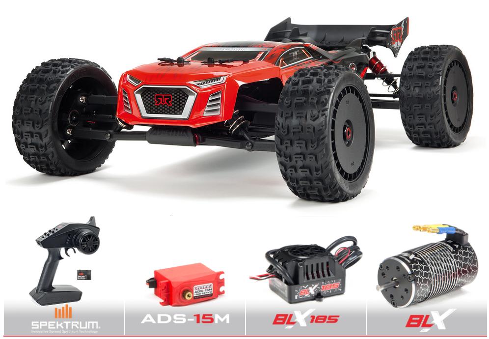 Arrma 1/8 TALION V4 6S BLX 4WD Brushless Sport Performance