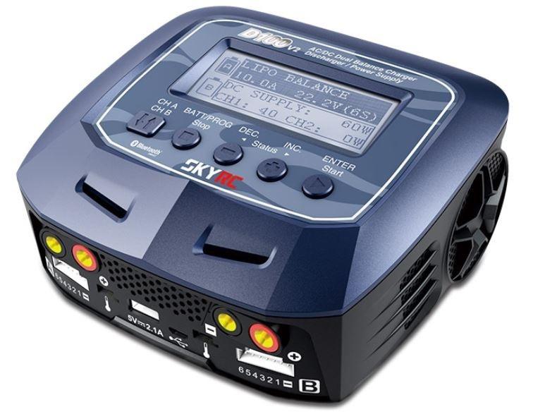 SKYRC D100v2 100W/10A Balancer Lade/Entladegerät