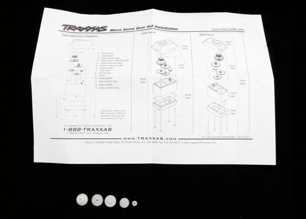 Traxxas Getriebe-Set für Traxxas Servo TRX2065