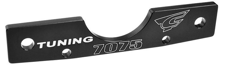 Team Corally  - Suspension Arm Mount - RF - Swiss Made 7075