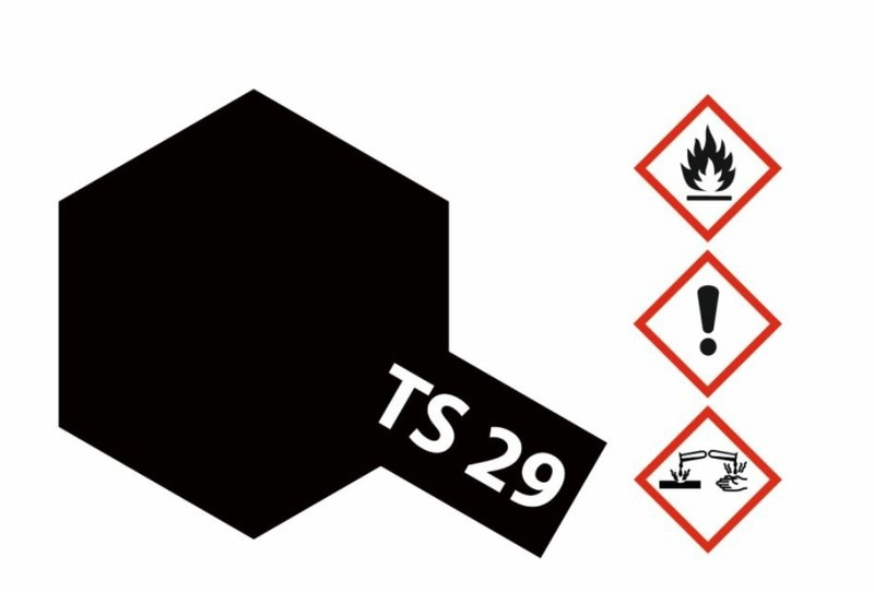 Tamiya Acryl-Sprühfarbe TS-29 Schwarz seidenmatt 100ml