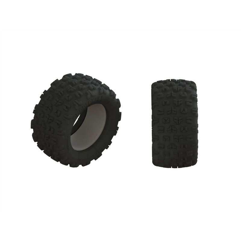 Arrma dBoots Copperhead2 Mt Tire & Inserts (Pair)