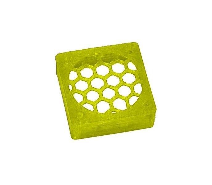 JS-Parts ultraflex Lüftergitter 30x10 geschlossen gelb