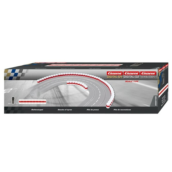 Carrera Digital 132 Reifenstapel