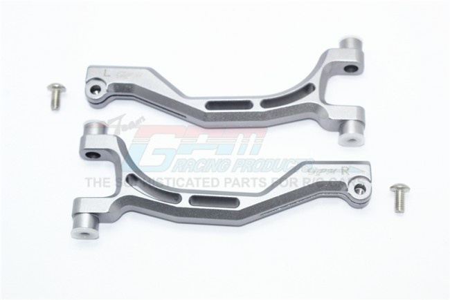 GPM aluminium front upper arms - 4PC Set for Thunder Tiger