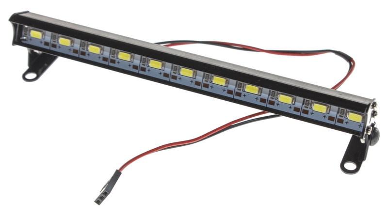 Absima Aluminium LED Strahler Ultrahell - schwarz