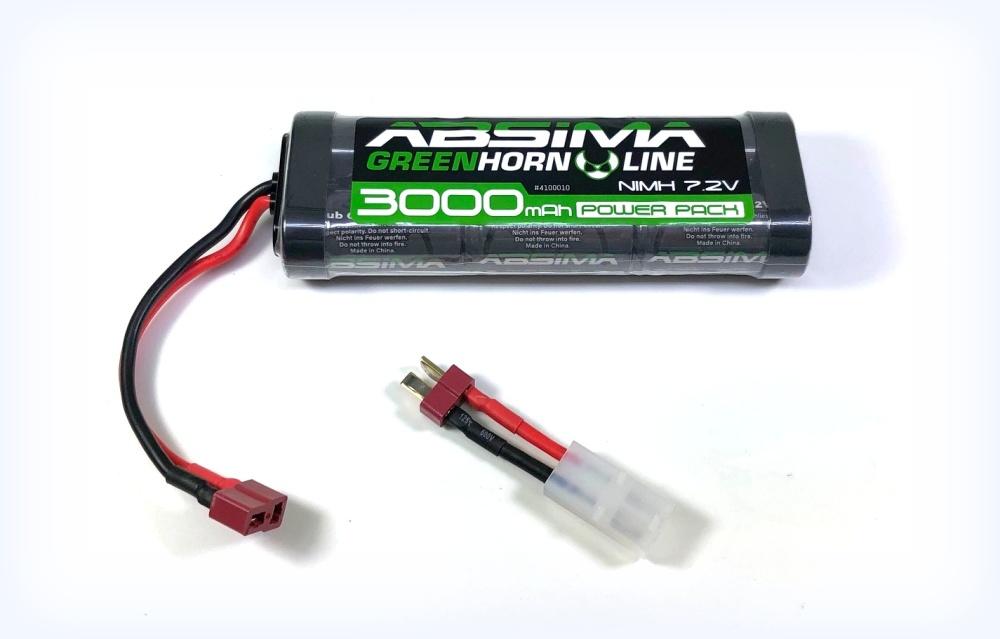 Absima Greenhorn Vo. 2 NiMH Stick Pack 7.2V 3000