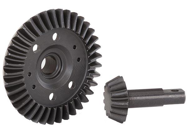 Traxxas Ring-Gear Diff/Ritzel-Gear Diff (machined, spiral)