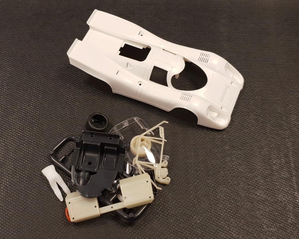 NSR Porsche 917K Clear Body Kit / Karosserie unlackiert