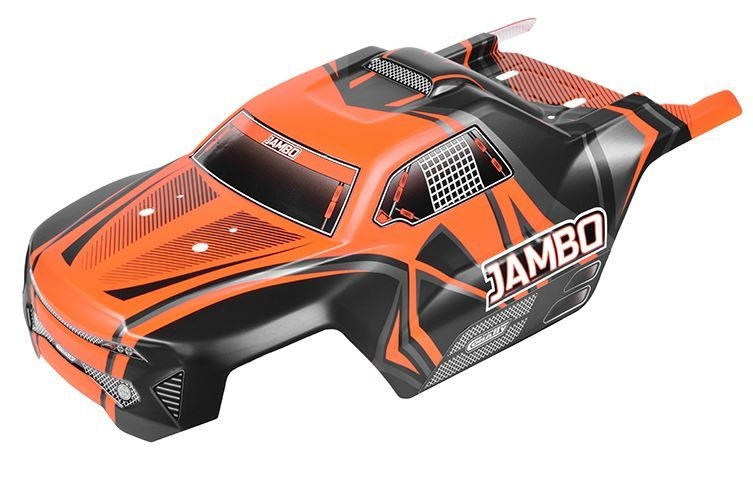 Team Corally Polycarbonate Body- Jambo XP 6S