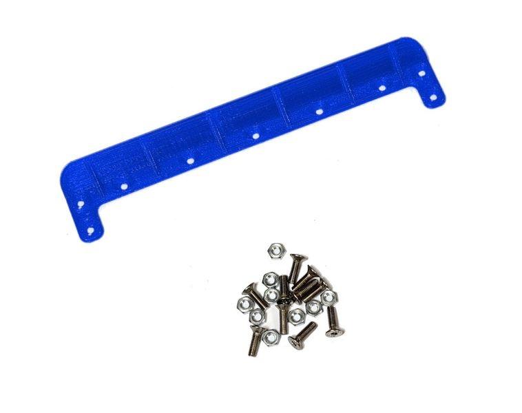 JS-Parts ultraflex Heckkante universal 140mm blau