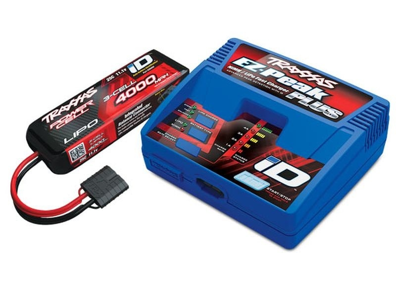 Traxxas Completer Pack mit 2970GX iD Lader +2849X 4000mAh