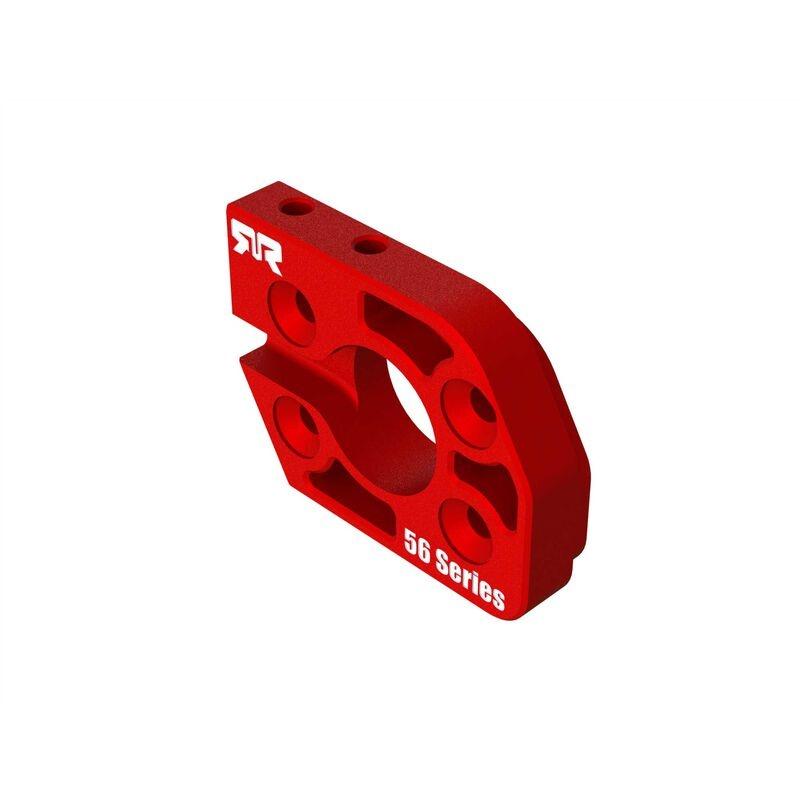 Arrma Aluminum Motor Plate 56 Series Red (ARA320591)