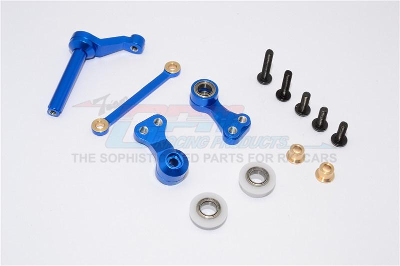 GPM aluminium steering assembly - 1SET for Tamiya CC-01