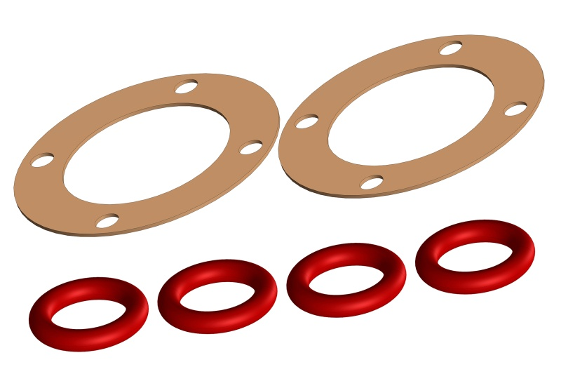 Team Corally Diff Gasket - 1 Set