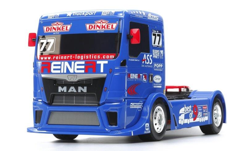 Tamiya RC Team Reinert Racing MAN TGS (TT-01E) Bausatz 1:14