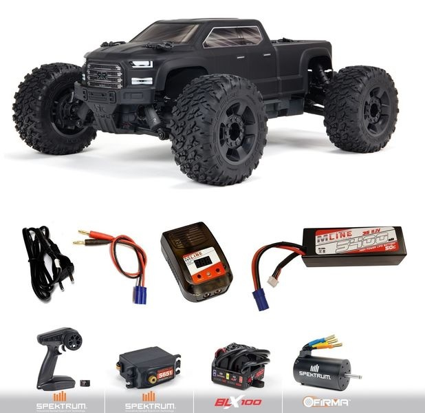 Arrma 1/10 BIG ROCK 4X4 V3 3S BLX Brushless Monster Truck