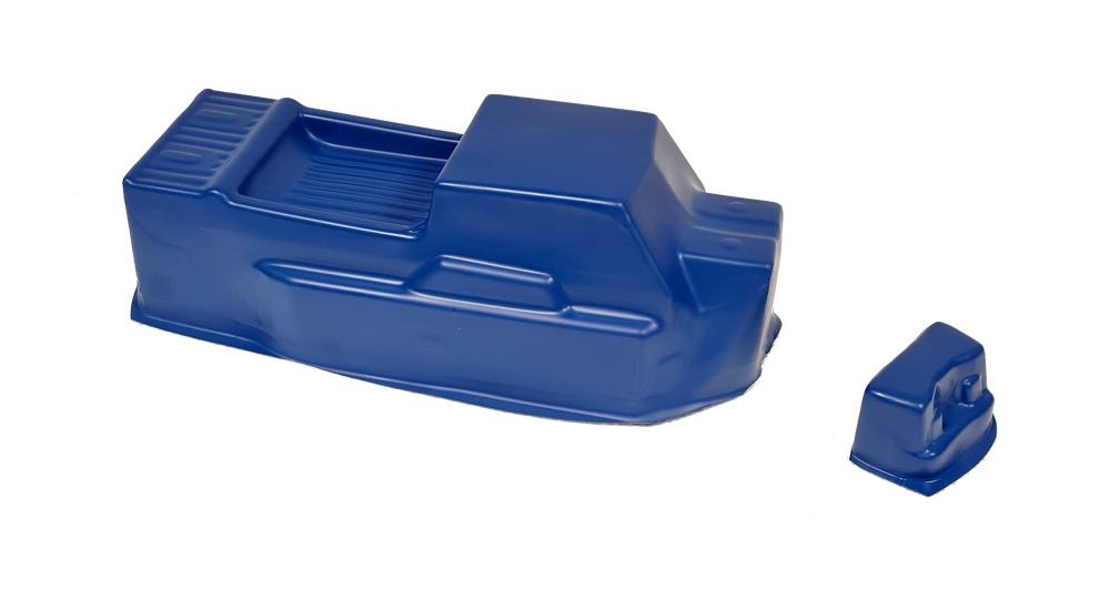 Probodyrc unbreakable Body für Tekno ET48 2.0 blau