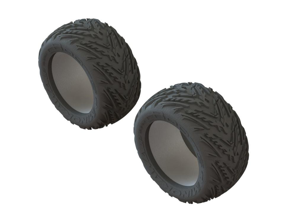 Arrma RC dBoots Minokawa LP tires and inserts (2)