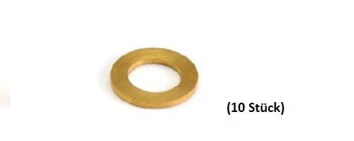 NSR Pick-Up Guide Spacers/Leitkieldistanzen .020 BRASS (10)