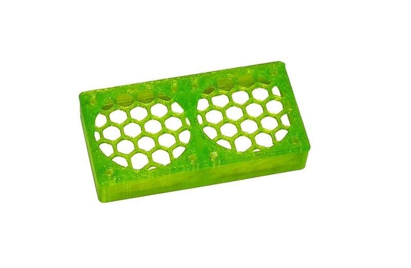 JS-Parts ultraflex Lüftergitter 2x30x10 geschlossen grün